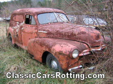 1946 Chevrolet Sedan Delivery Junk Car Removal Get An